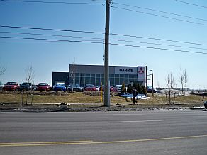 2 project - Barrie Mitsubishi dealership small